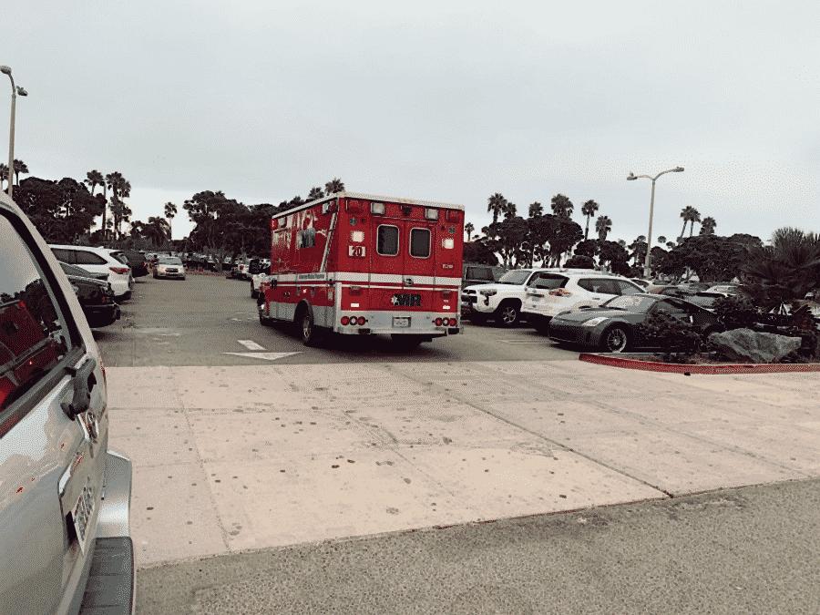 Houston, TX - Officers Investigating Car Crash on I-10 Fwy at San Jacinto River